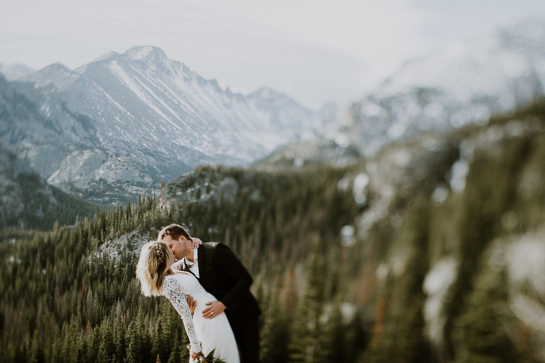 Colorado Intimate Wedding and Adventurous Elopement Photographer, Justyna E Butler, Rocky Mountain National Park Wedding Photographer
