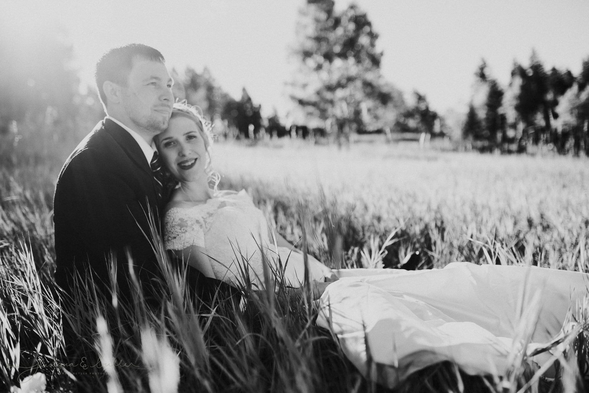 Kelly and Scott I Meadows at the Marshdale Evergreen, Colorado Wedding Sneak Peek