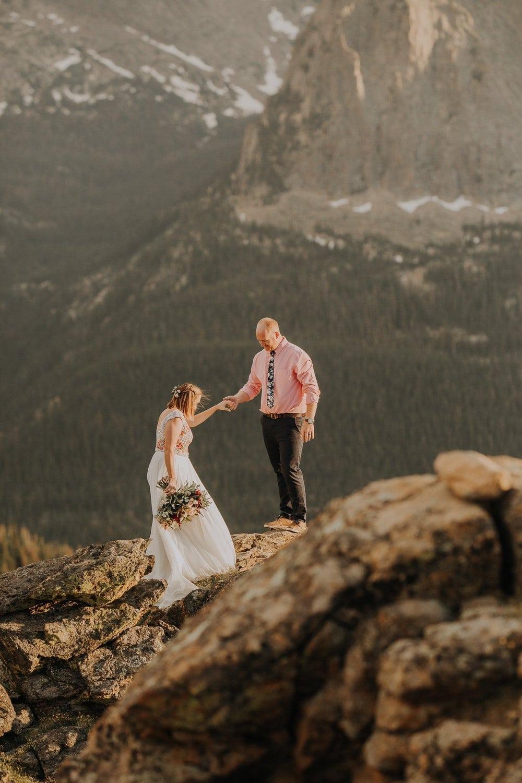 Colorado Mountain Elopements, Justyna E Butler, Rocky Mountain National park, RMNP, Colorado Mountain Elopement Photography