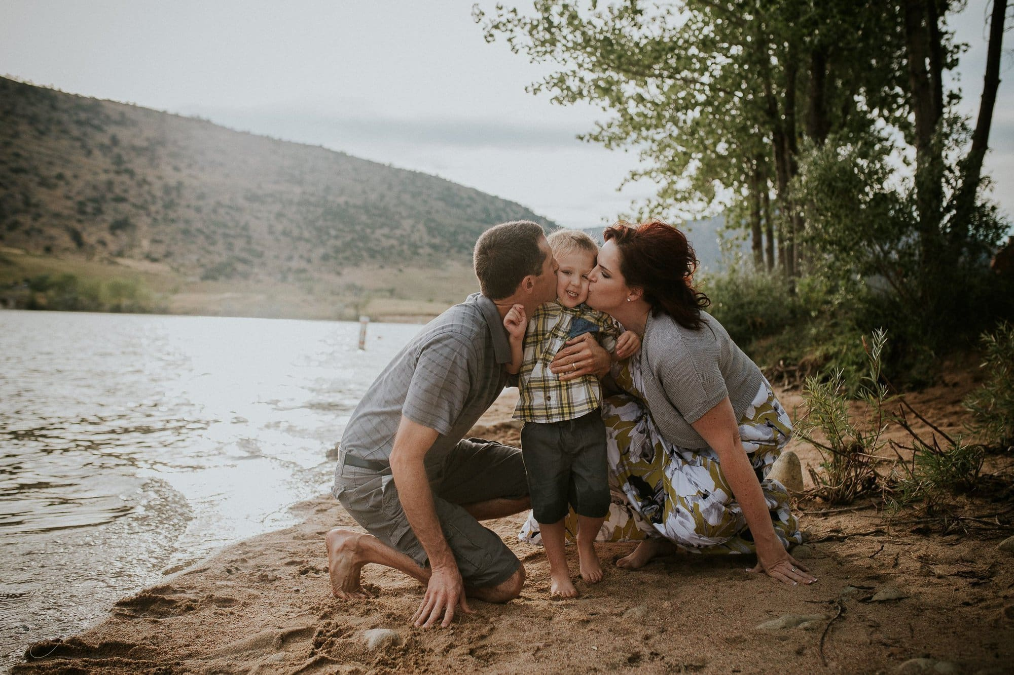 Colorado Family Portraits, Bear Creek Lake