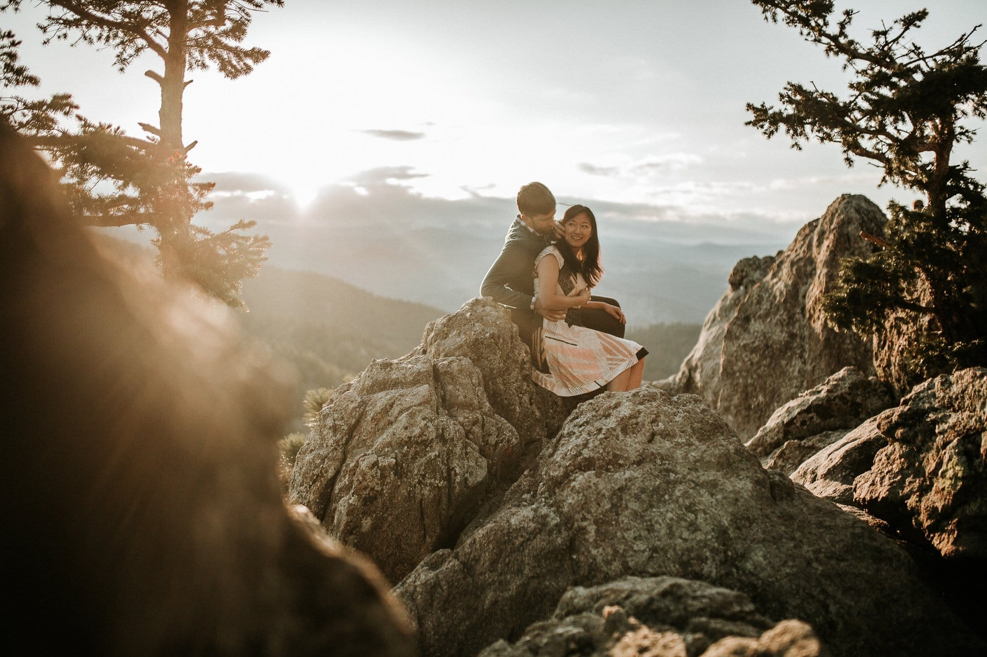 Lost Gulch Outlook, Engagement Photos, Colorado
