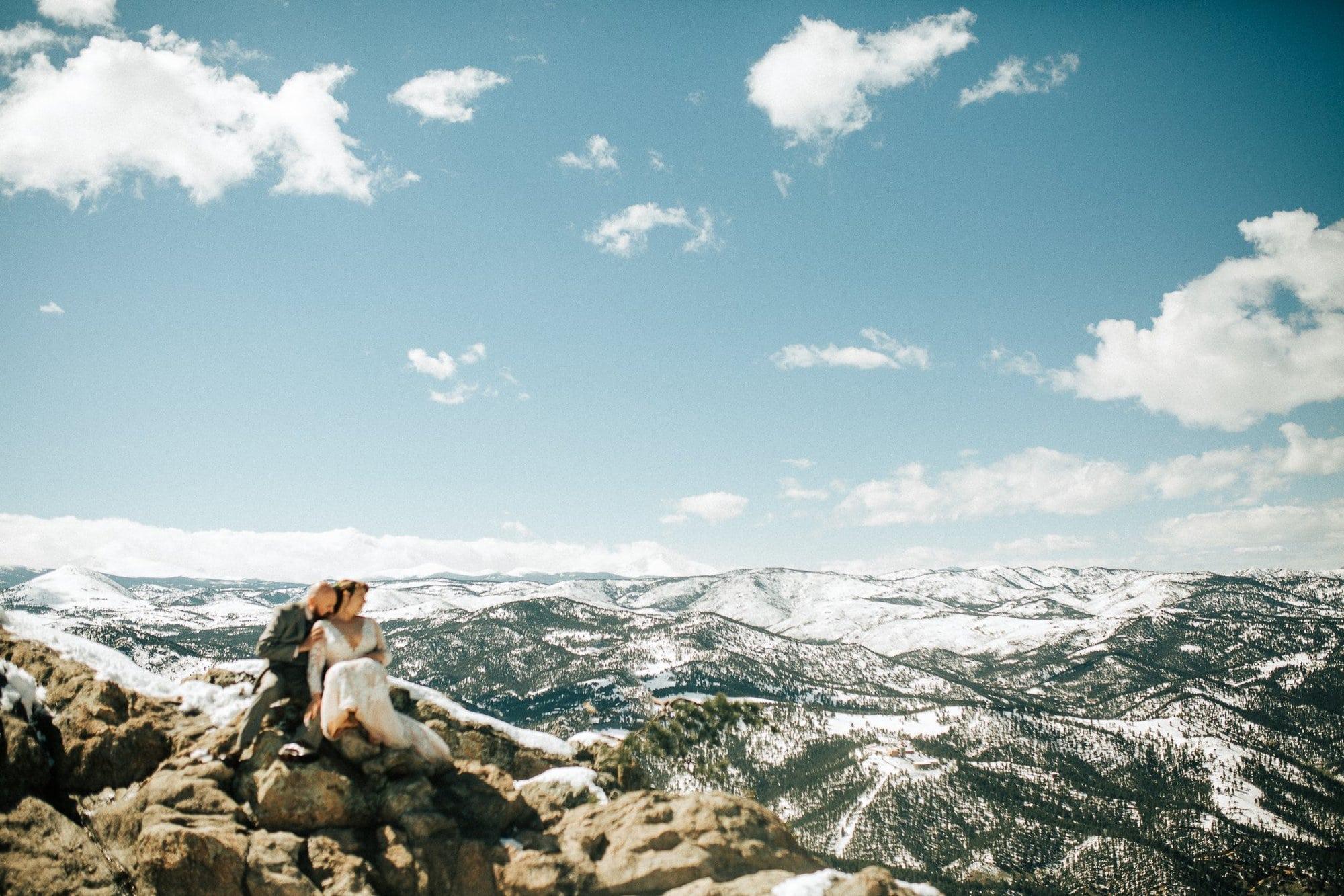 Co Wedding Photos Colorado Mountain