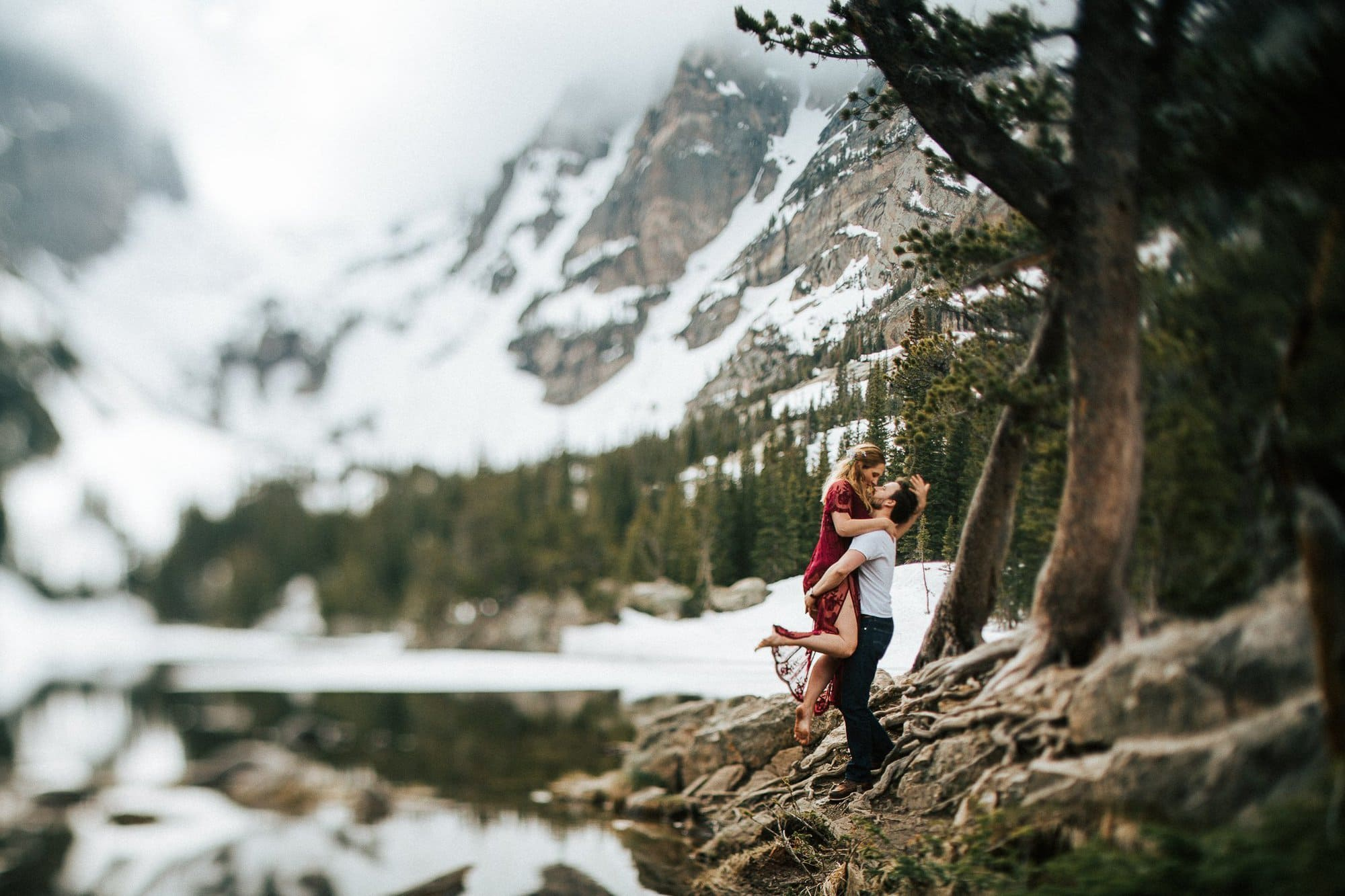 Colorado Mountain Elopements, Justyna E Butler, Rocky Mountain National park, RMNP, Dream Lake Elopement