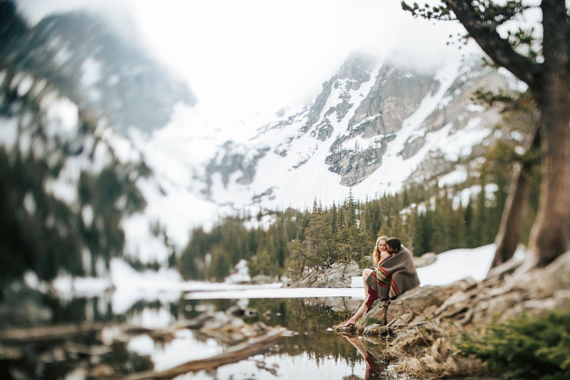 ROCKY MOUNTAIN NATIONAL PARK ANNIVERSARY | ESTES PARK PHOTOGRAPHER | THE DREAM LAKE ANNIVERSARY | COLORADO MOUNTAIN ENGAGEMENT PHOTOGRAPHER
