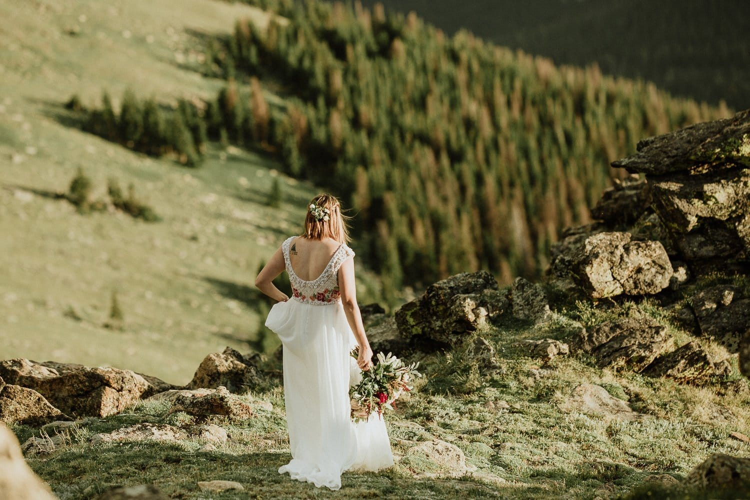 ROCKY MOUNTAIN NATIONAL PARK VOWS RENEWAL I ARRIN + ASHLEY | ESTES PARK COLORADO ELOPEMENT PHOTOGRAPHER | TRAIL RIDGE VOWS RENEWAL |  COLORADO MOUNTAIN ANNIVERSARY PHOTOGRAPHER