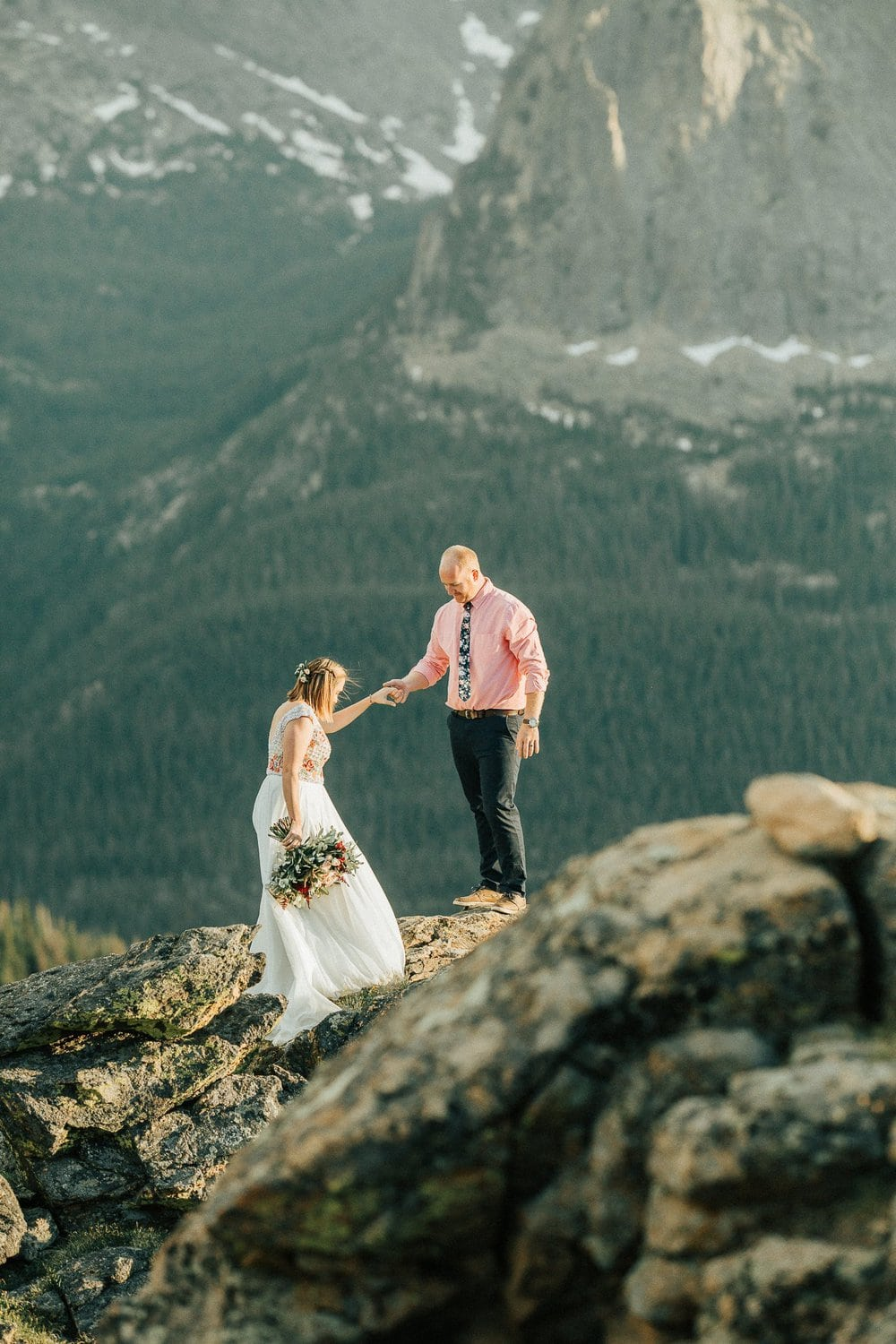 Rocky Mountain National park, Trail Ridge Road, Vows Renewal Session, Colorado Mountain Wedding Photographer, 3 M Curve Anniversary, Justyna E Butler