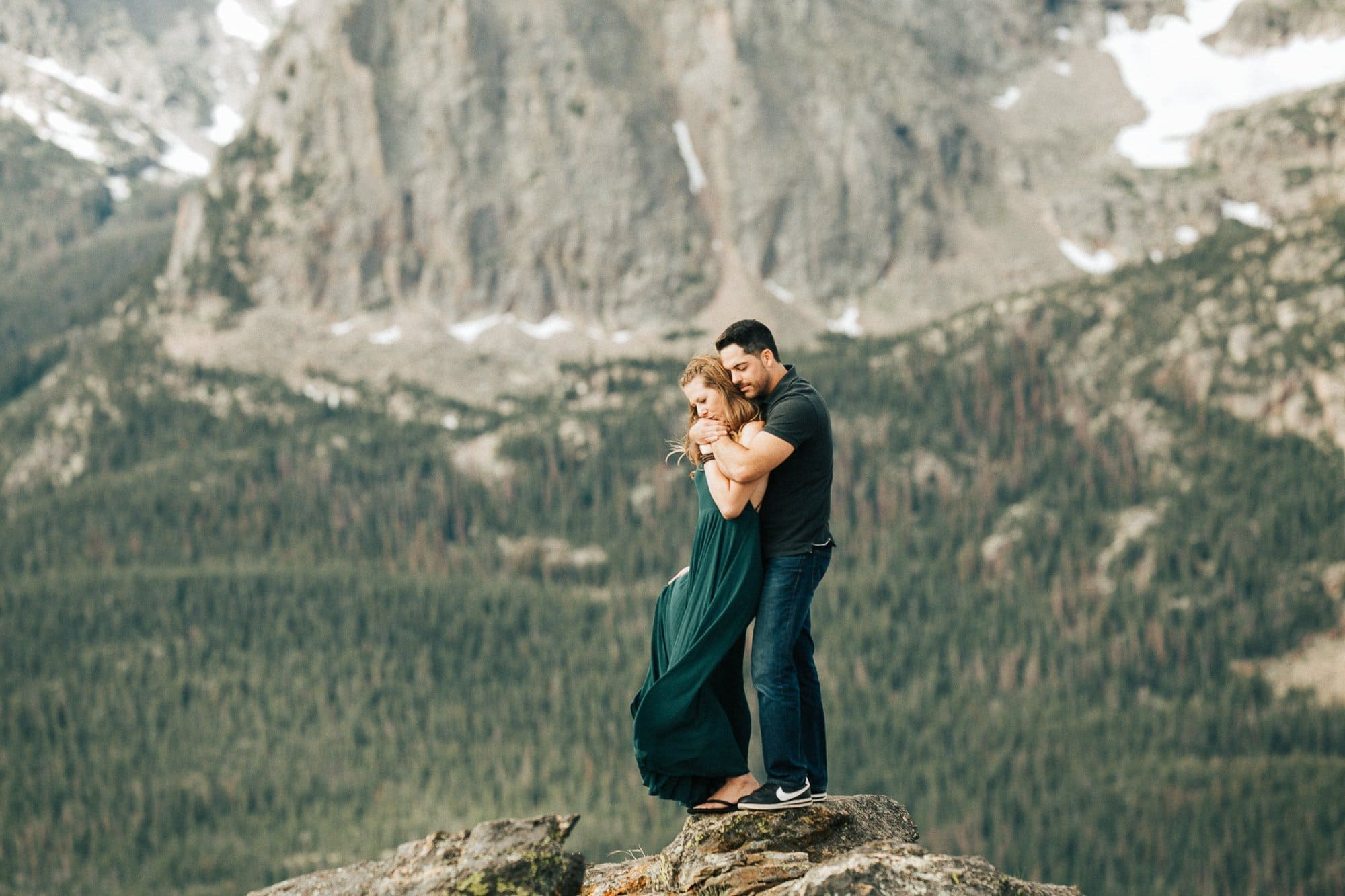 Rocky Mountain National park, Trail Ridge Road, Engagement Session, Colorado Mountain Wedding Photographer, 3 M Curve Engagement, Justyna E Butler