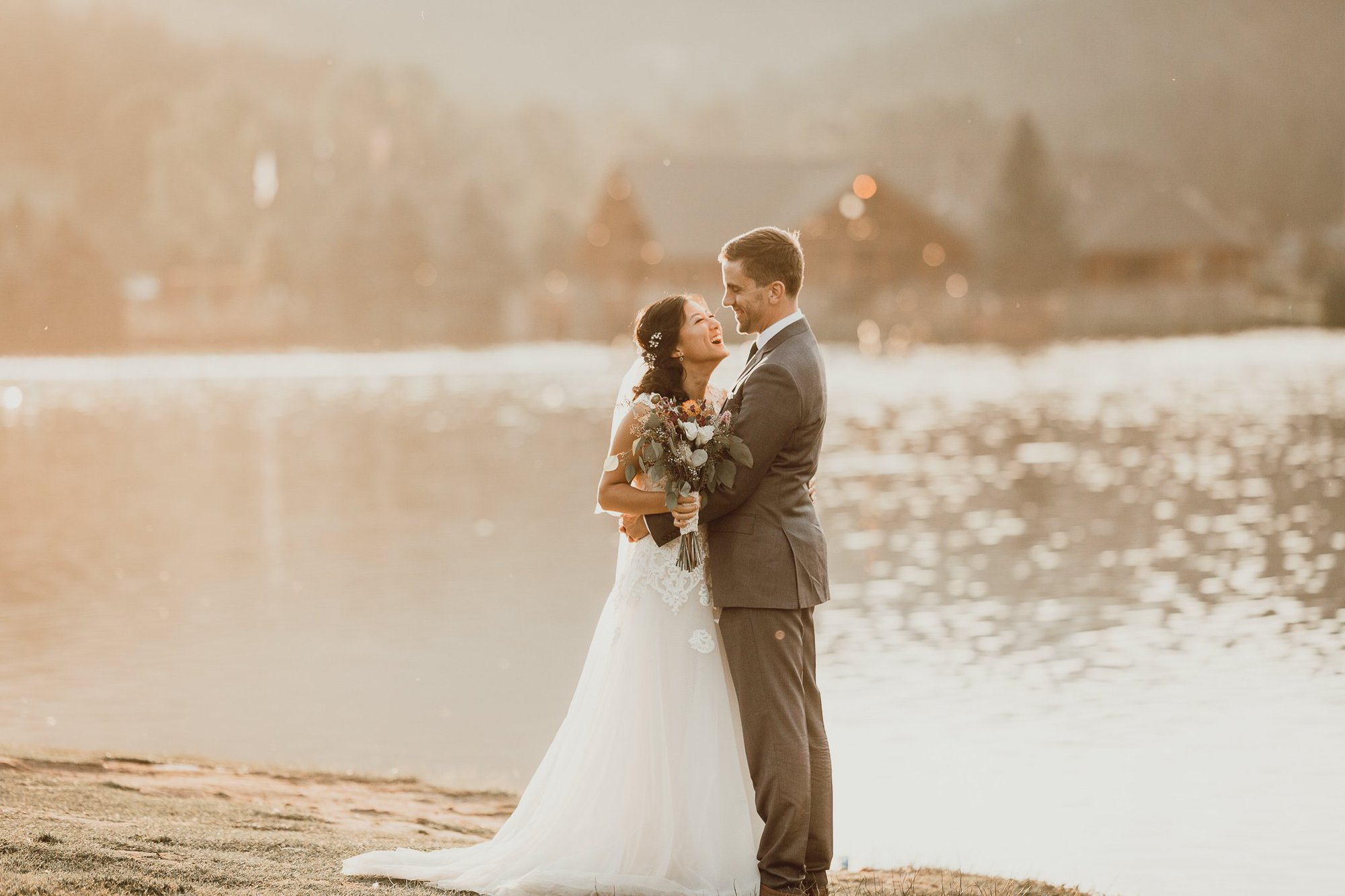 Evergreen, COLORADO Destination Mountain Wedding, Justyna E Butler