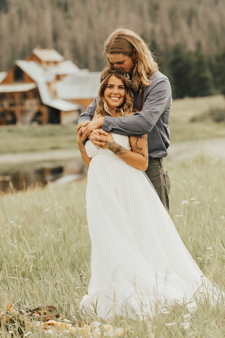 Midnight Ranch, Clark Colorado, Colorado Mountain Weddings, Adventurous Couples, Justyna E Butler