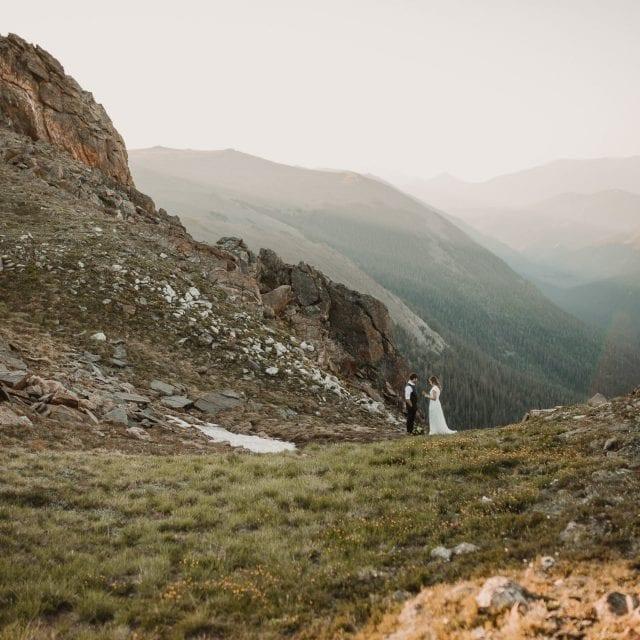 Colorado Hiking Elopement Adventure Photos by Justyna E Butler Photography, Colorado Adventure