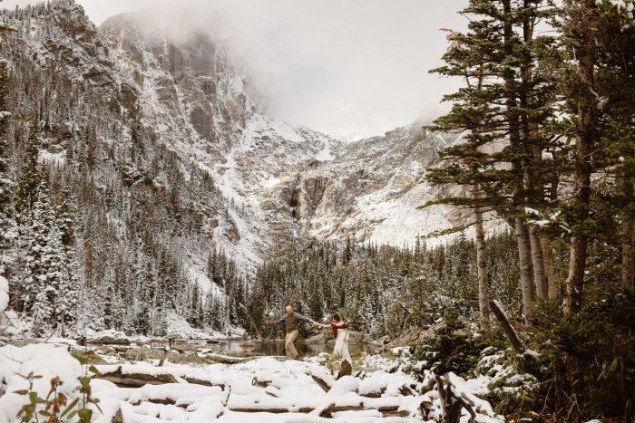 Rocky Mountain National Park Adventure Elopement Photographer, Justyna E Butler Photography