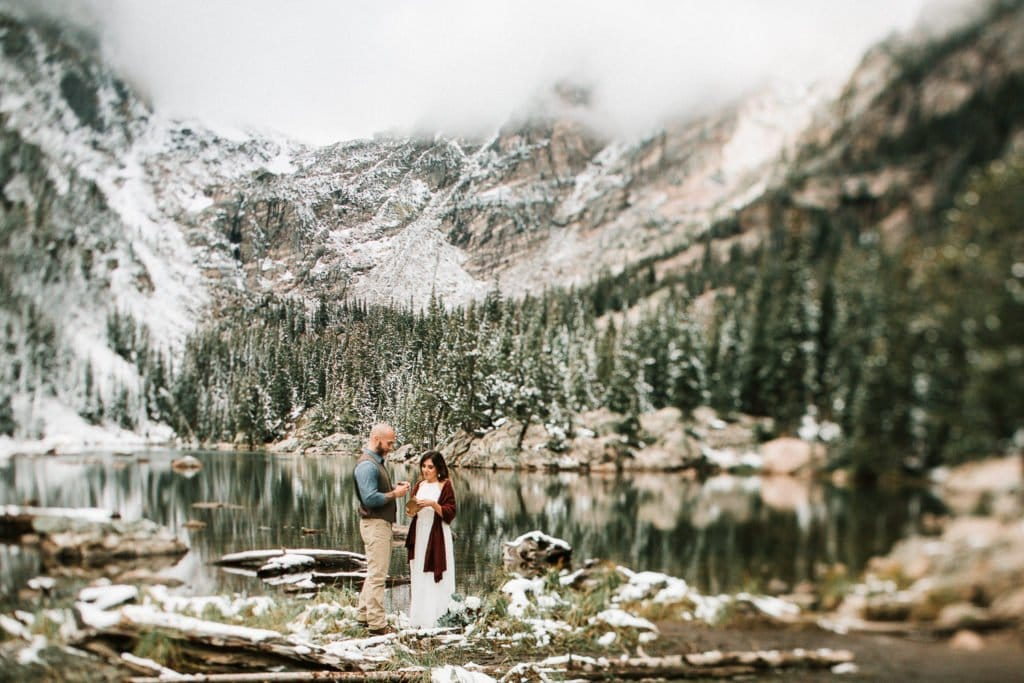 ROCKY MOUNTAIN ELOPEMENT |DREAM LAKE ELOPEMENT | CHRISTINE + JASON I JUSTYNA E BUTLER PHOTOGRAPHY | ROCKY MOUNTAIN NATIONAL PARK ELOPEMENT |COLORADO MOUNTAIN ELOPEMENT PHOTOGRAPHER