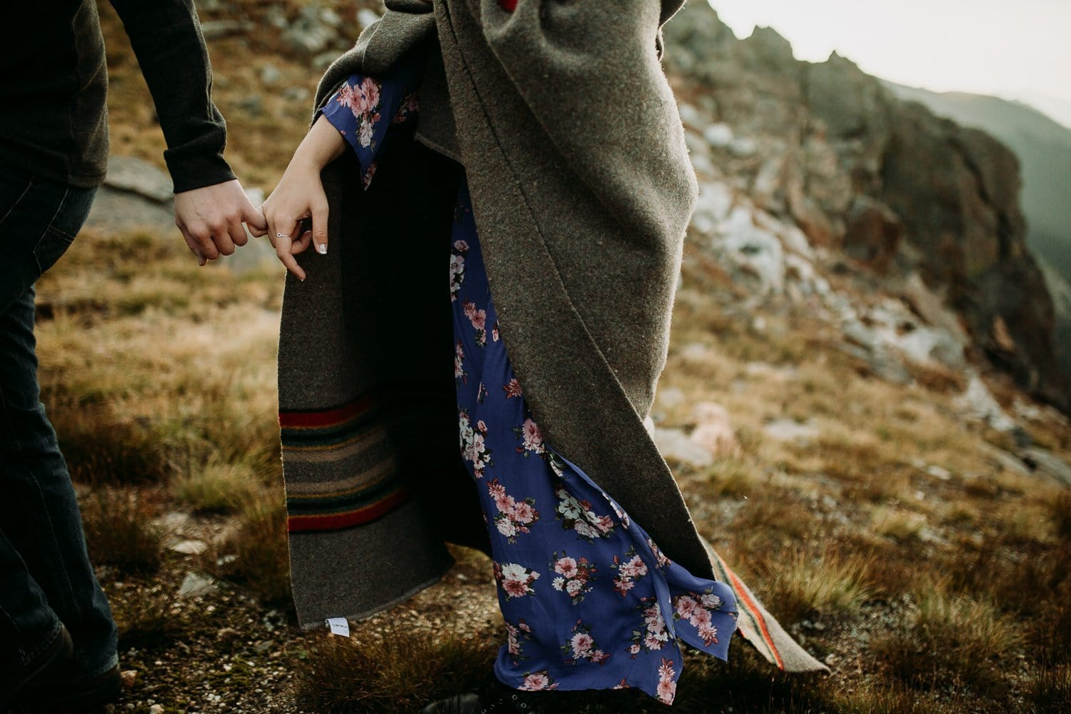 ESTES PARK ENGAGEMENT PHOTOGRAPHY |TRAIL RIDGE ROAD ENGAGEMENT | JUSTYNA E BUTLER PHOTOGRAPHY | ROCKY MOUNTAIN NATIONAL ENGAGEMENT|COLORADO MOUNTAINENGAGEMENT PHOTOGRAPHER