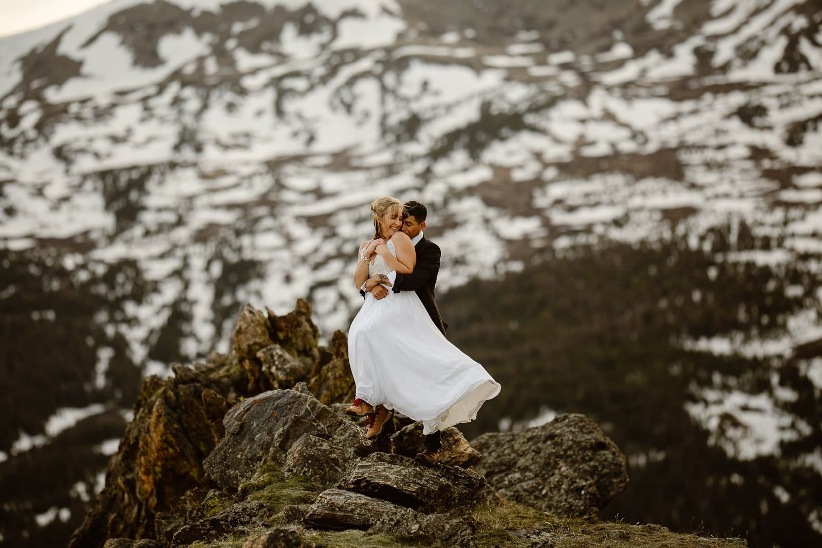Featured on Junebug Weddings, Colorado Elopement Photographer, Justyna E Butler Photography, Adventure Weddings
