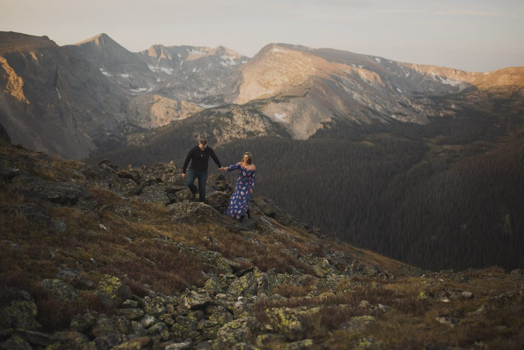 Fall adventures for Engagement, Colorado Adventure
