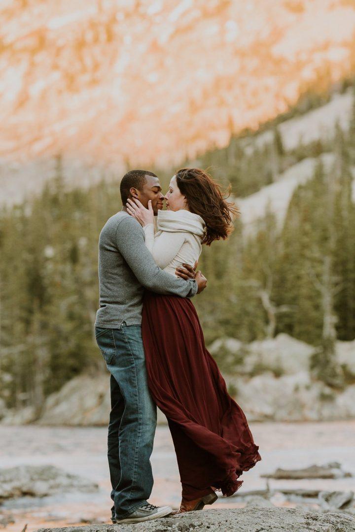 DREAM LAKE HIKING ENGAGEMENT I Intimate Wedding Photographer I ROCKY MOUNTAIN ELOPEMENT PHOTOGRAPHER| JUSTYNA E BUTLER PHOTOGRAPHY| ROCKY MOUNTAIN NATIONAL PARK ELOPEMENT PHOTOGRAPHER| COLORADO MOUNTAIN ADVENTUROUS ELOPEMENT PHOTOGRAPHER|INTIMATE WEDDING COLLECTIONS|ADVENTUROUS ELOPEMENT COLLECTIONS