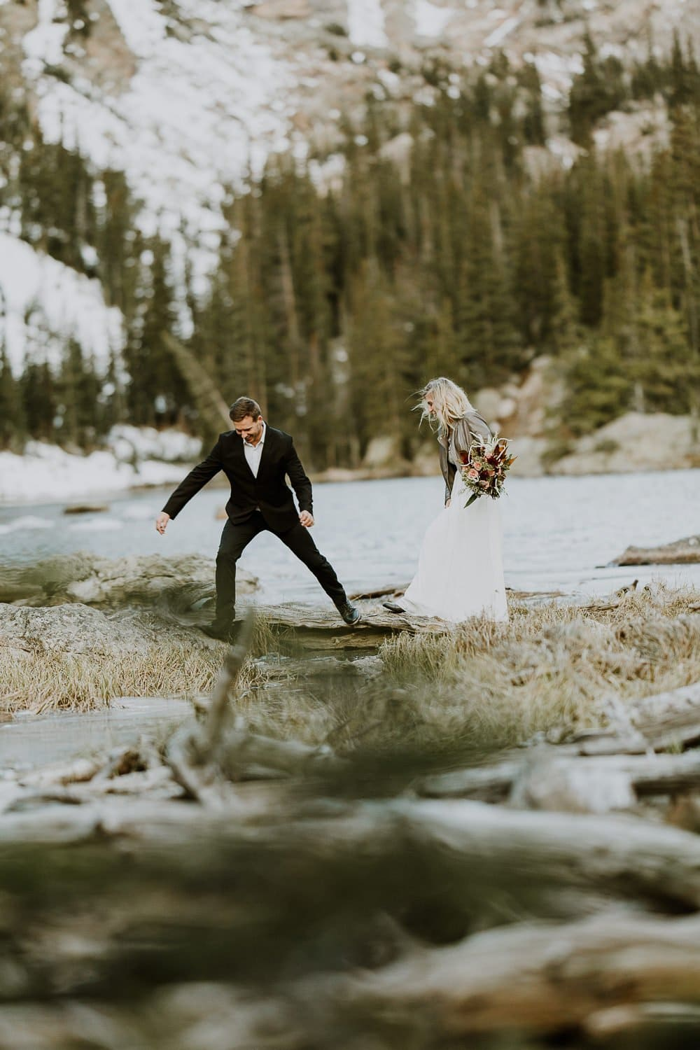 ROCKY MOUNTAIN ELOPEMENT |DREAM LAKE ELOPEMENT I JUSTYNA E BUTLER PHOTOGRAPHY | ROCKY MOUNTAIN NATIONAL PARK ELOPEMENT |COLORADO MOUNTAIN ELOPEMENT PHOTOGRAPHER