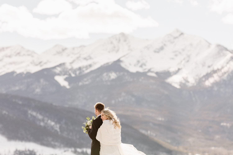 Summit County, Colorado in Winter wonderland