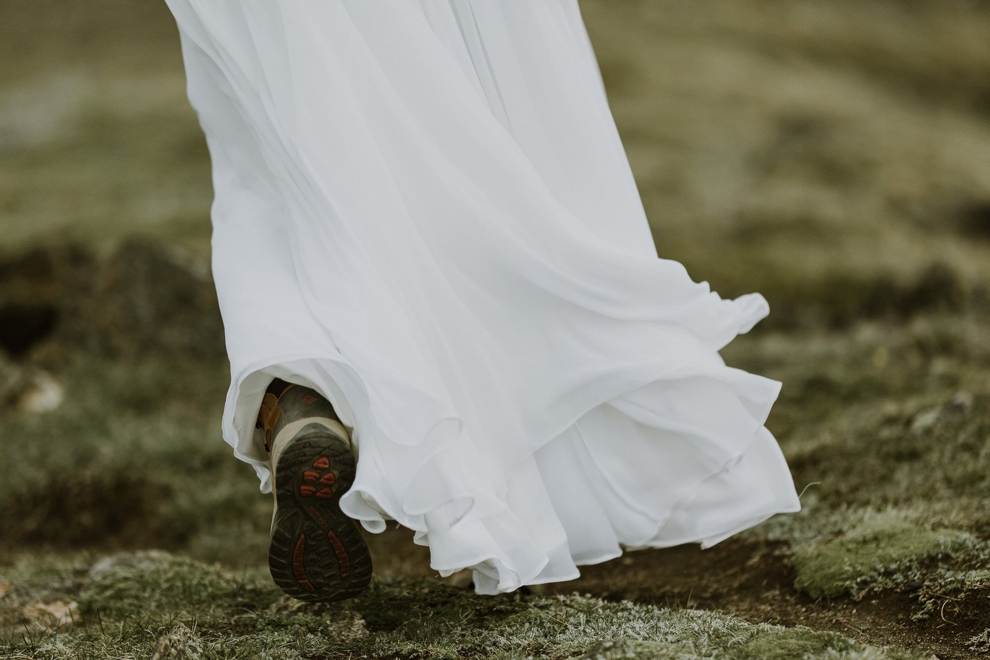 Colorado Alpine Hiking Wedding