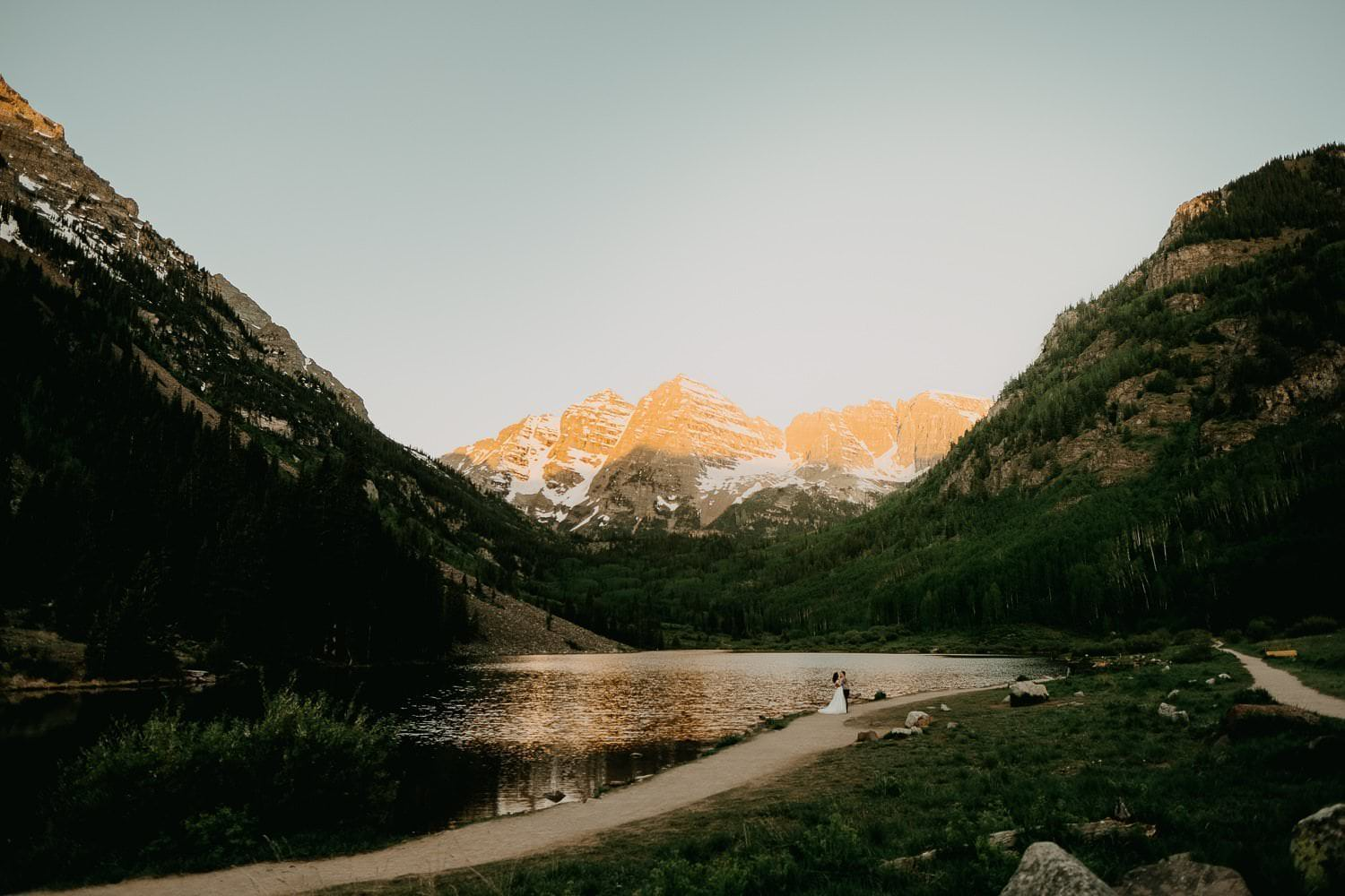 MAROON BELLS HIKING ADVENTURES|ASPEN COLORADO | AMY + IAN
