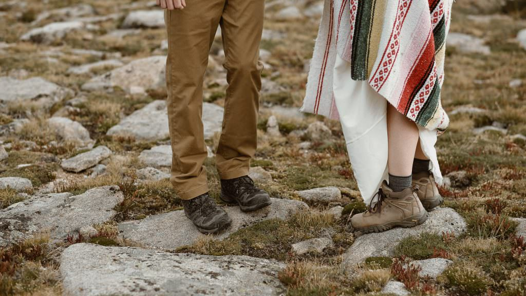 They explore. on the top of the boulder. Stories of life changing adventures on the top of the world Photos by Justyna E Butler Photography. Intimate Weddings + Adventure Elopement Photographer based in Colorado.