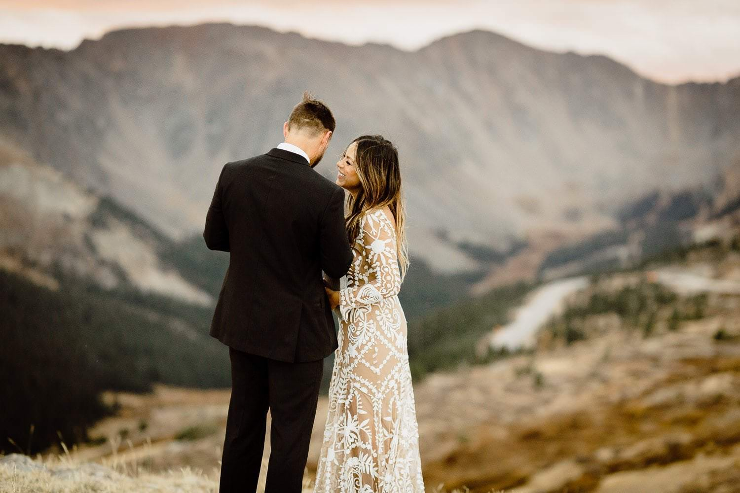 JOHN'S +JANEENA ADVENTUROUS BRECKENRIDGE ELOPEMENT | SUNRISE FIRST LOOK AT LOVELAND PASS | SUNRISE WEDDING CEREMONY AT LOVELAND PASS | DESTINATION ELOPEMENT PHOTOGRAPHER COLORADO ADVENTURE PHOTOGRAPHY|COLORADO ELOPEMENT PHOTOGRAPHER|DESTINATION ADVENTURE ELOPEMENTS + INTIMATE WEDDINGS FOR MADLY IN LOVE SOULS| ROCKY MOUNTAIN NATIONAL PARK COLORADO ELOPEMENT PHOTOGRAPHER