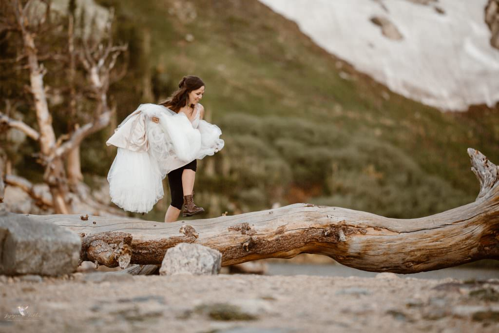COLORADO HIKING ADVENTURE ST MARY'S GLACIER ELOPEMENT | HOW TO ELOPE THE ADVENTUROUS WAY | FROM THE REAL COUPLES | ROCKY MOUNTAIN ADVENTURE ELOPEMENTS PHOTOGRAPHER | COLORADO ADVENTURE ELOPEMENT PHOTOGRAPHER
