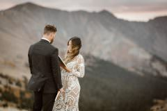 Sunrise Adventure Elopements Ceremony