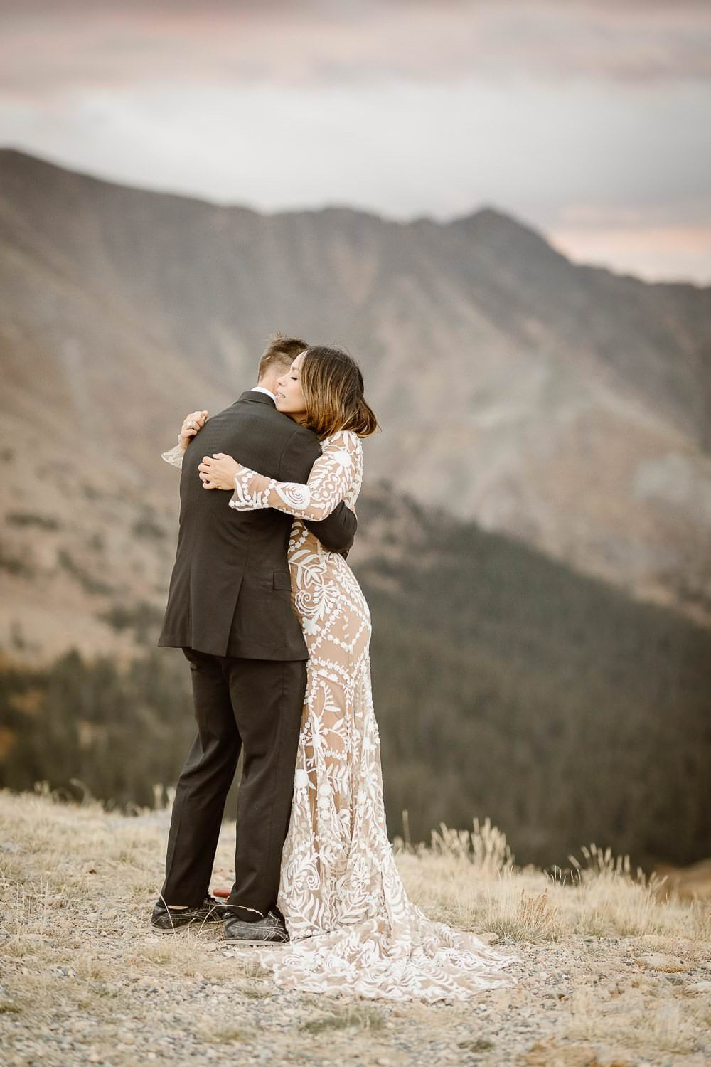 JOHN'S +JANEENA ADVENTUROUS BRECKENRIDGE ELOPEMENT | SUNRISE FIRST LOOK AT LOVELAND PASS | SUNRISE WEDDING CEREMONY AT LOVELAND PASS | DESTINATION ELOPEMENT PHOTOGRAPHERCOLORADO ADVENTURE PHOTOGRAPHY|COLORADO ELOPEMENT PHOTOGRAPHER|DESTINATION ADVENTURE ELOPEMENTS + INTIMATE WEDDINGS FOR MADLY IN LOVE SOULS| ROCKY MOUNTAIN NATIONAL PARK COLORADO ELOPEMENT PHOTOGRAPHER
