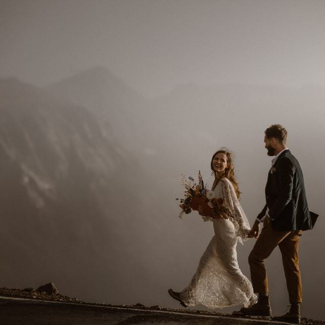 Destination Adventure Wedding and Elopement Photographer, Justyna E Butler Photography, Intimate Weddings + Adventure Elopements, Mountain Elopement Session Adventure