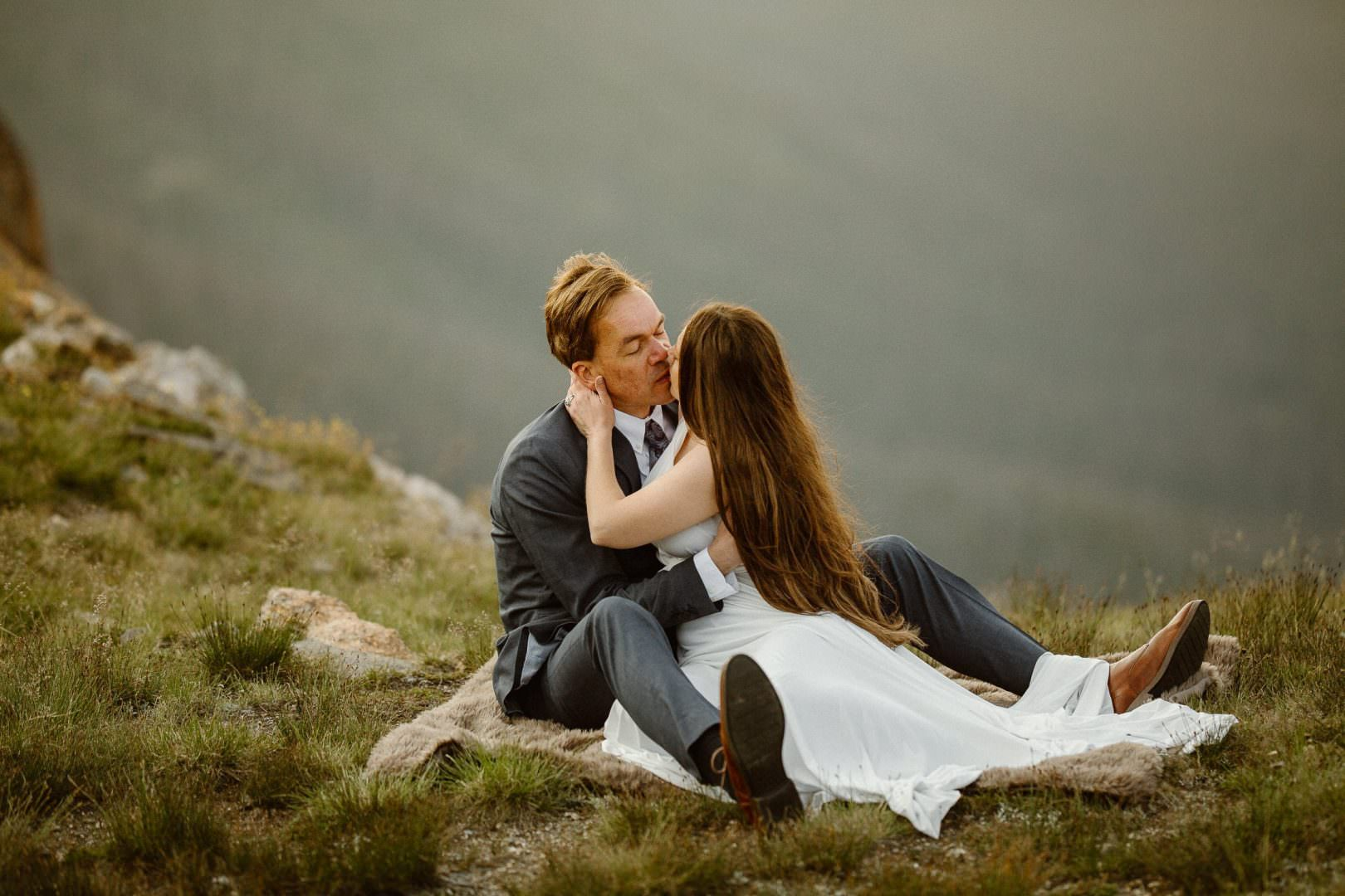 Colorado Intimate Weddings and Adventure Elopement Photographer | Rocky Mountain National Park Wedding Photographer | Adventure