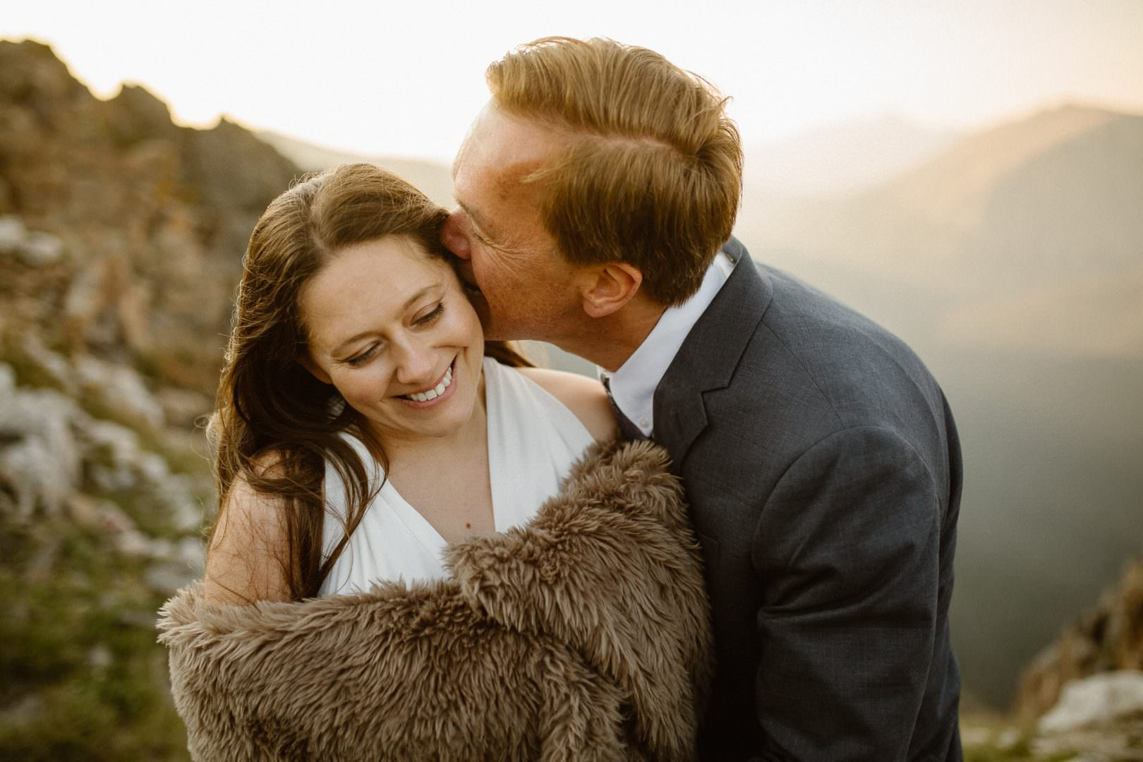 August is a great time for an adventure elopement in Colorado. Colorado Intimate Weddings and Adventure Elopement Photographer | Rocky Mountain National Park Wedding Photographer | Adventure