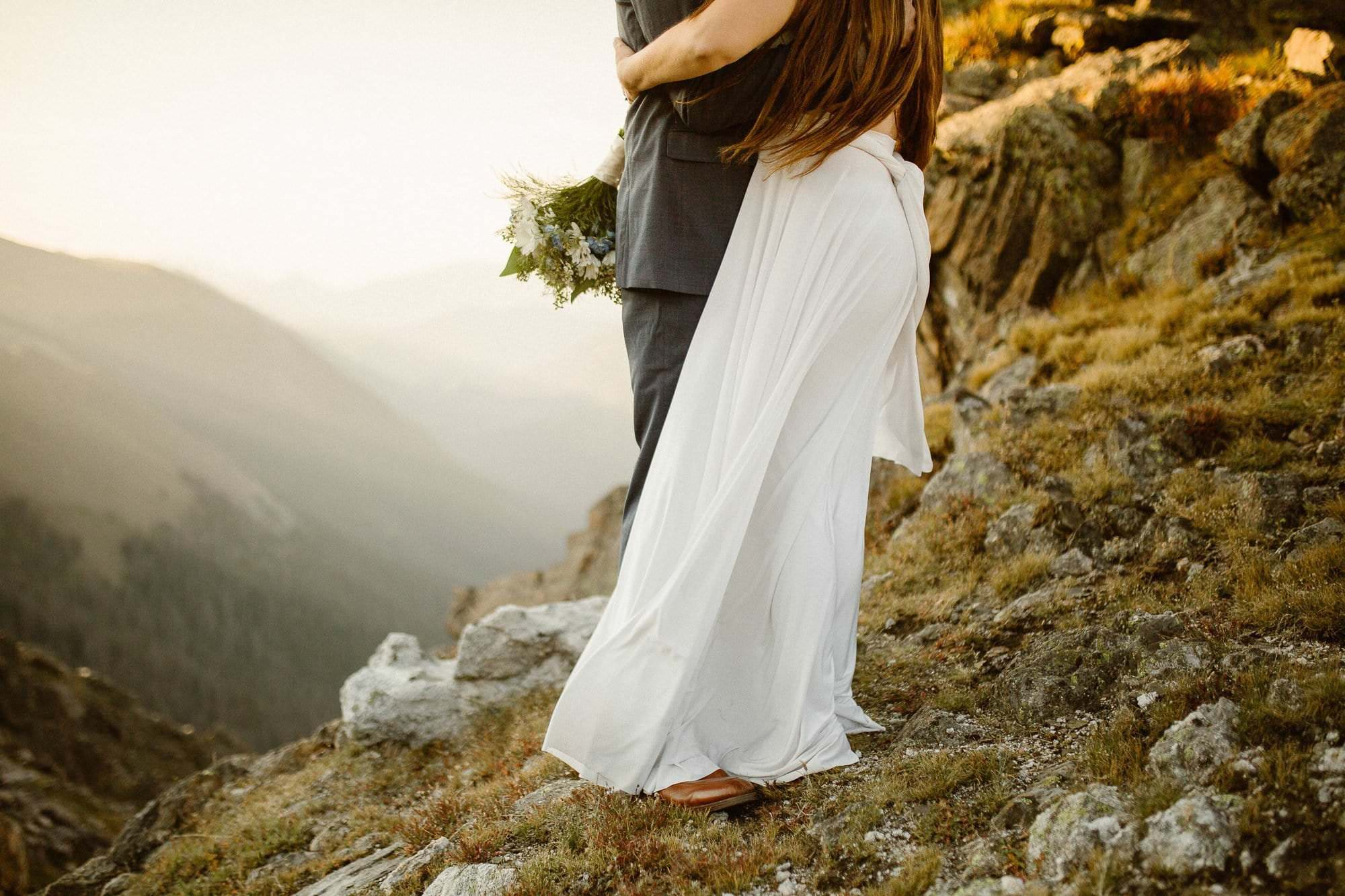 The Day After Adventure session with adventurous couple, Rocky Mountain Adventure Elopement Photographer, Colorado Intimate Weddings and Adventure Elopement Photographer | Rocky Mountain National Park Wedding Photographer | Adventure