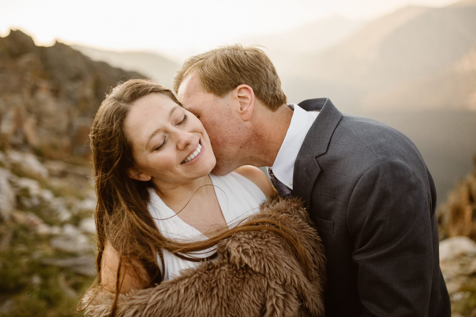 COLORADO ELOPEMENT PHOTOGRAPHER  Colorado Adventure Engagement  Colorado Wedding Photographer