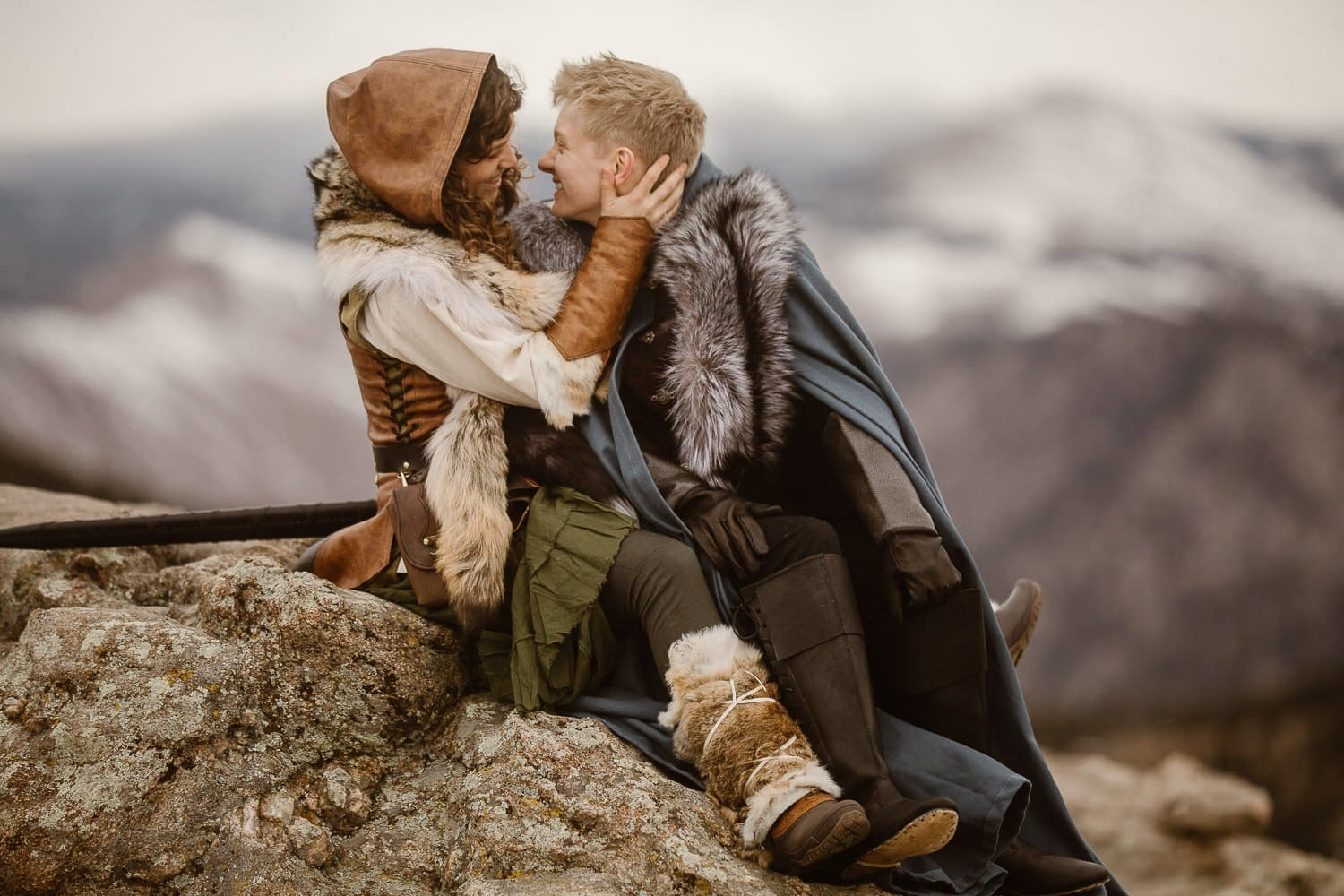GAME OF THRONES INSPIRED ADVENTURE TRAVEL SESSION | COLORADO ADVENTURE ELOPEMENT PHOTOGRAPHER