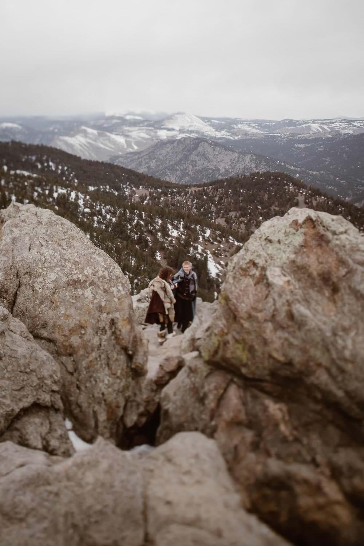 GAME OF THRONES INSPIRED ADVENTURE COUPLES SESSION | COLORADO ADVENTURE ELOPEMENT PHOTOGRAPHER| BOULDER COLORADO ADVENTURE PHOTOGRAPHY| LOST GULCH OUTLOOK ADVENTURE