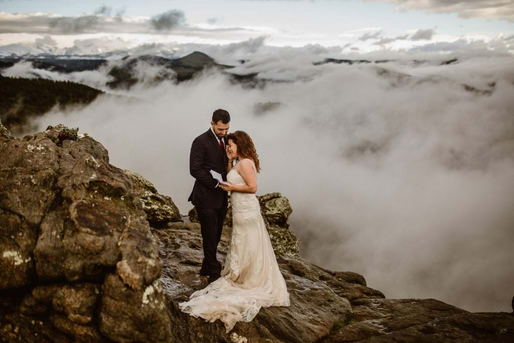 WALKING ON CLOUDS | JUSTYNA E BUTLER PHOTOGRAPHY | ADVENTURE ELOPEMENT PHOTOGRAPHERS