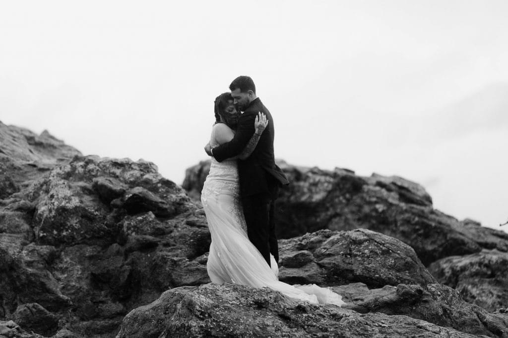 COLORADO ELOPEMENT PHOTOGRAPHERS | LOST GULCH BOULDER ELOPEMENT | REBA+DALTON'S SUNRISE ELOPEMENT CEREMONY OVERLOOKINGCHAUTAUQUA PARK | WALKING ON CLOUDS | JUSTYNA E BUTLER PHOTOGRAPHY