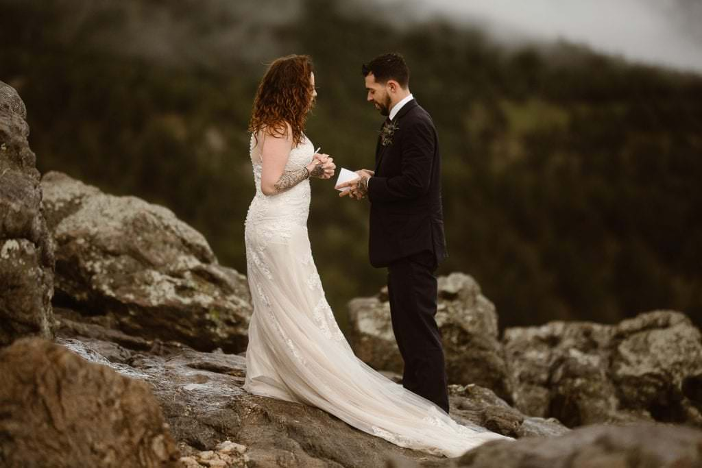 COLORADO ELOPEMENT PHOTOGRAPHERS | LOST GULCH BOULDER ELOPEMENT | REBA+DALTON'S SUNRISE ELOPEMENT