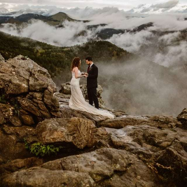 COLORADO ELOPEMENT PHOTOGRAPHERS | LOST GULCH BOULDER ELOPEMENT |JUSTYNA E BUTLER PHOTOGRAPHY |