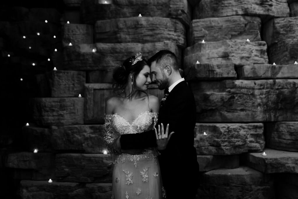 DELLA TERRA MOUNTAIN CHATEAU NIGHT SHOTS WITH STARS AROUND THEM |COLORADO WEDDING | COLORADO WEDDING PHOTOGRAPHER | ESTES PARK COLORADO