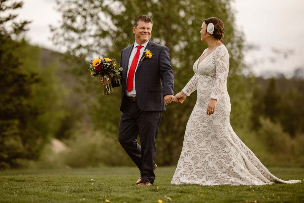 Breckenridge Golf Club Mountain Wedding | Colorado Intimate Weddings and Adventure Elopement Photographer | Colorado Rocky Mountain Wedding Photographer | Adventure | Lynn + Scott
