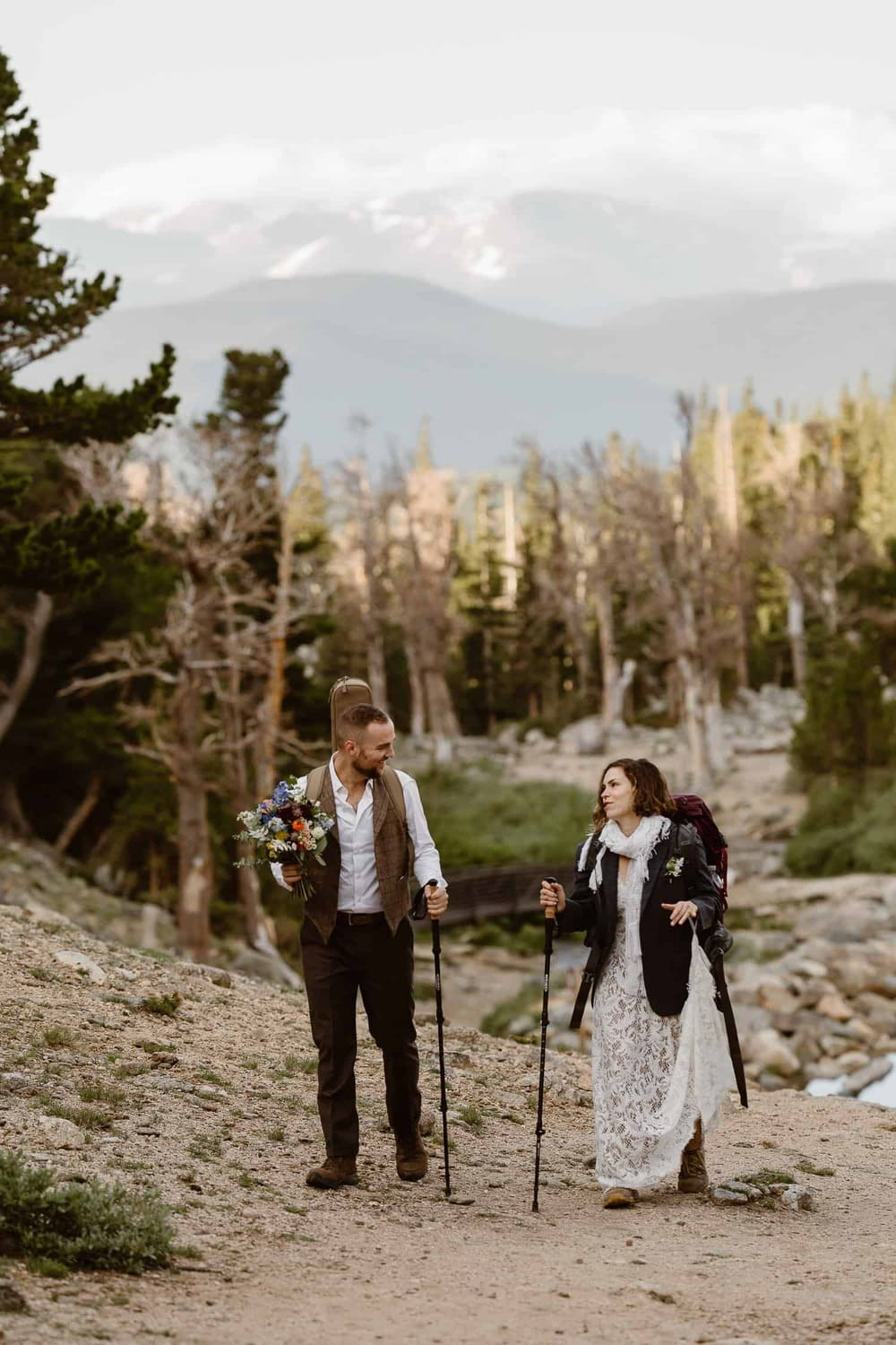 ALPINE HIKING ADVENTURE ELOPEMENT IN COLORADO | COLORADO ADVENTURE WEDDING AND ELOPEMENT PHOTOGRAPHER | JUSTYNA E BUTLER PHOTOGRAPHY | MICHAEL + COURTNEY