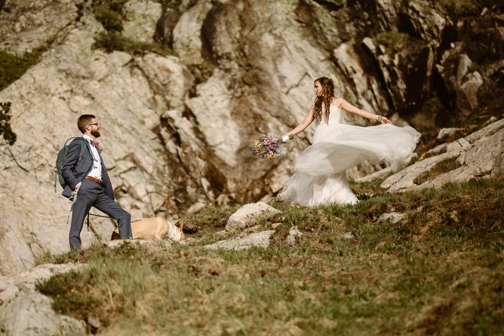 Colorado Alpine Adventure Elopement Photographer, Justyna E Butler Photography
