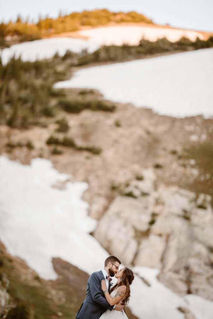 Colorado Alpine Adventure Wedding