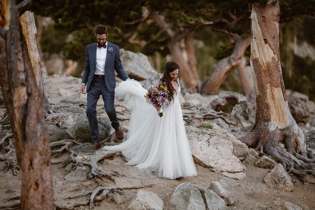 Hiking Adventure Wedding