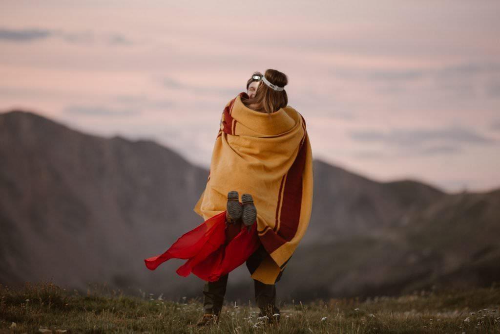 Sunrise nature lovers adventures in Colorado