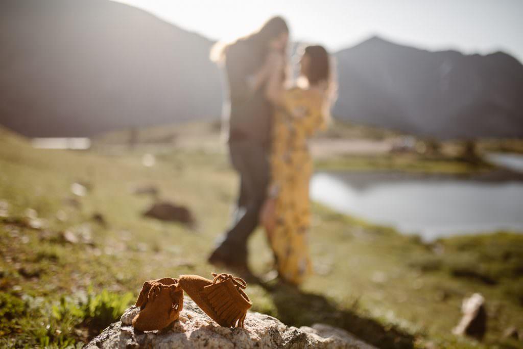 COLORADO MOUNTAIN ADVENTURE ENGAGEMENT PHOTOGRAPHER