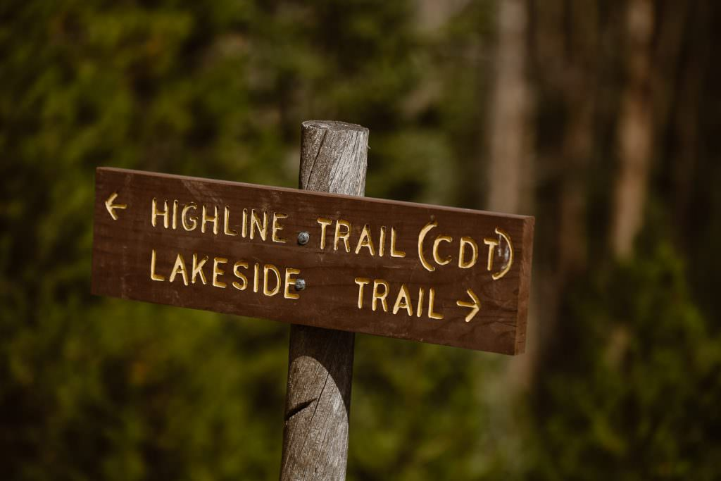 Highline Trail CDT Adventure Wedding