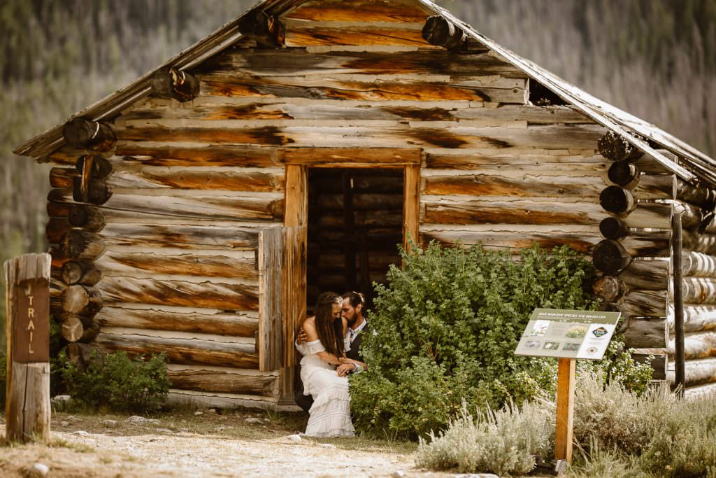 Wyoming adventure Elopement in Tetons Wy